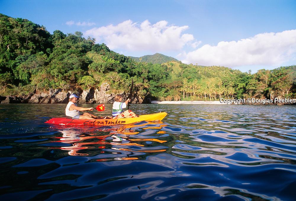 Kayaking, Kadavu, Fiji.
