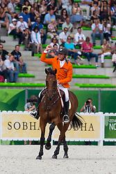 Jeroen Dubbeldam, (NED), Zenith SFN - World Champions, - Second Round Team Competition - Alltech FEI World Equestrian Games™ 2014 - Normandy, France.<br /> © Hippo Foto Team - Leanjo De Koster<br /> 25/06/14