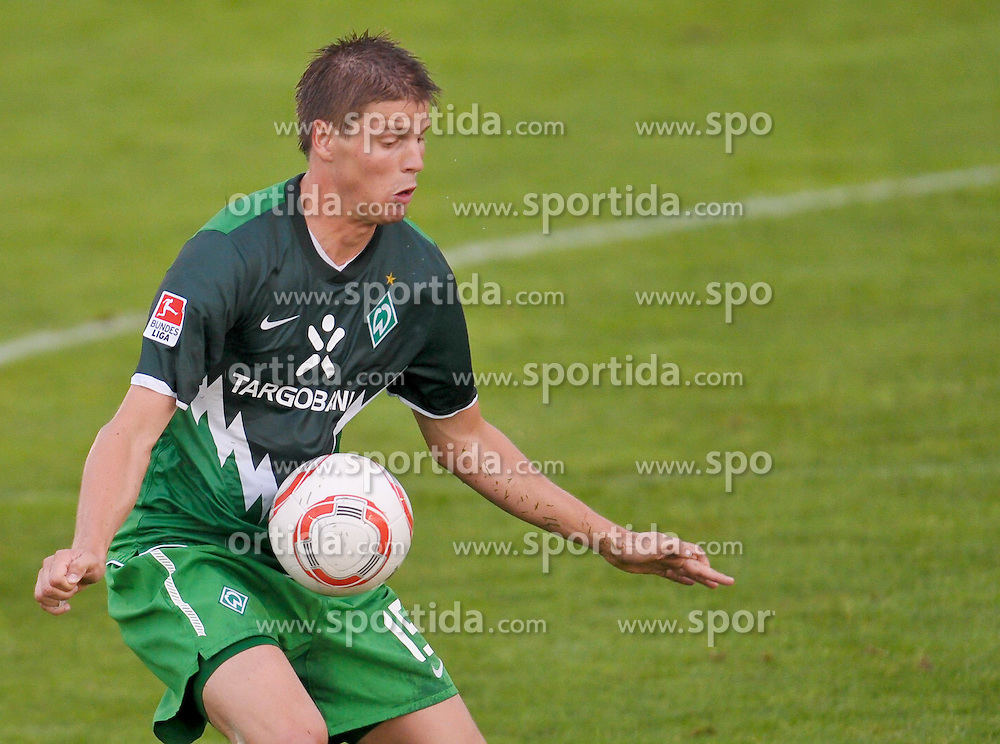 03.08.2010, Thermenbad Stadion, Bad Waltersdorf, AUT, Werder Bremen vs FK Rad Belgrad, Friendly Match  1. FBL 2010  im Bild  Sebastian Prödl / Proedl ( Werder #15)    EXPA Pictures © 2010, PhotoCredit: EXPA/ nph/  Kokenge+++++ ATTENTION - OUT OF GER +++++ / SPORTIDA PHOTO AGENCY