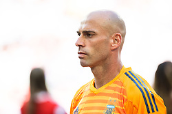 June 16, 2018 - Moscow, Russia - 180616 Goalkeeper Wilfredo Caballero of Argentina prior the FIFA World Cup group stage match between Argentina and Iceland on June 16, 2018 in Moscow..Photo: Petter Arvidson / BILDBYRÃ…N / kod PA / 92068 (Credit Image: © Petter Arvidson/Bildbyran via ZUMA Press)