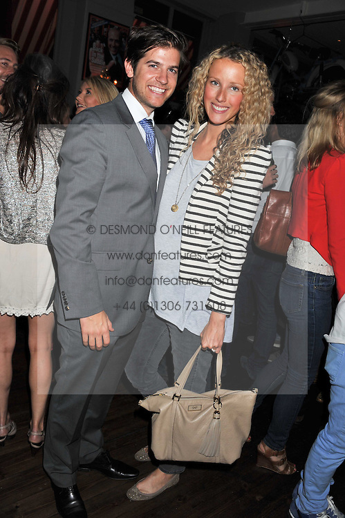 JACK & KATE FREUD at a party to celebrate the opening of Bunga Bunga - a new Pizzeria & Bar, 37 Battersea Bridge Road, London SW11 on 1st September 2011.