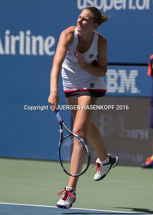 KAROLINA PLISKOVA (CZE)<br /> <br /> Tennis - US Open 2016 - Grand Slam ITF / ATP / WTA -  USTA Billie Jean King National Tennis Center - New York - New York - USA  - 7 September 2016.