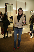 GEORGIE RYLANCE, Gas new concept Flagship store opening. Duke of York Sq. London. 9 May 2007.  -DO NOT ARCHIVE-© Copyright Photograph by Dafydd Jones. 248 Clapham Rd. London SW9 0PZ. Tel 0207 820 0771. www.dafjones.com.