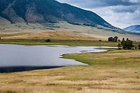 Porter Lake below Sheep Mountain in southern Wyoming.