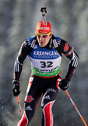 Arnd Pfeiffer of Germany during the Men 10 km Sprint of the e.on IBU Biathlon World Cup on Saturday, December 18, 2010 in Pokljuka, Slovenia. The fourth e.on IBU World Cup stage is taking place in Rudno polje - Pokljuka, Slovenia until Sunday December 19, 2010. (Photo By Vid Ponikvar / Sportida.com)