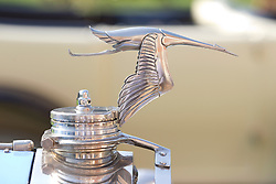 © Licensed to London News Pictures. 05/09/2013. London, UK. The bonnet detail of a 1925 Hispano-Suiza Boulogne is seen at the St James's Concours of Elegance classic car event at Royal Gardens of St James's Palace in London today (05/09/2013). The event, which alternates each year between Windsor Castle and St James's Palace, features sixty rare cars from across the world and takes place over the next three days. Photo credit: Matt Cetti-Roberts/LNP