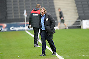 MK Dons chairman Pete Winkleman  during the Sky Bet Championship match between Milton Keynes Dons and Rotherham United at stadium:mk, Milton Keynes, England on 9 April 2016. Photo by Dennis Goodwin.