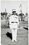 French general during 14th July ceremony Morocco Meknes 1936