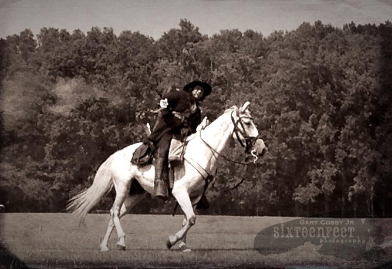 Gary Cosby Jr.  iPhone photographs  Civil War reenactors at the Battle For Decatur.