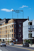 HOT SPRINGS, AR – JUNE 29, 2013: The historic Majestic Hotel.