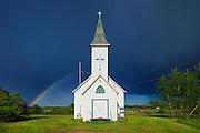 Rainbow and Bethel Lutheran Church<br /> Wroxton<br /> Saskatchewan<br /> Canada