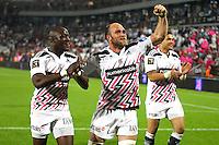 Joie Antoine Burban / Djibril Camara - 05.06.2015 - Toulon / Stade Francais - 1/2Finale Top 14 -Bordeaux<br />Photo : Manuel Blondeau / Icon Sport