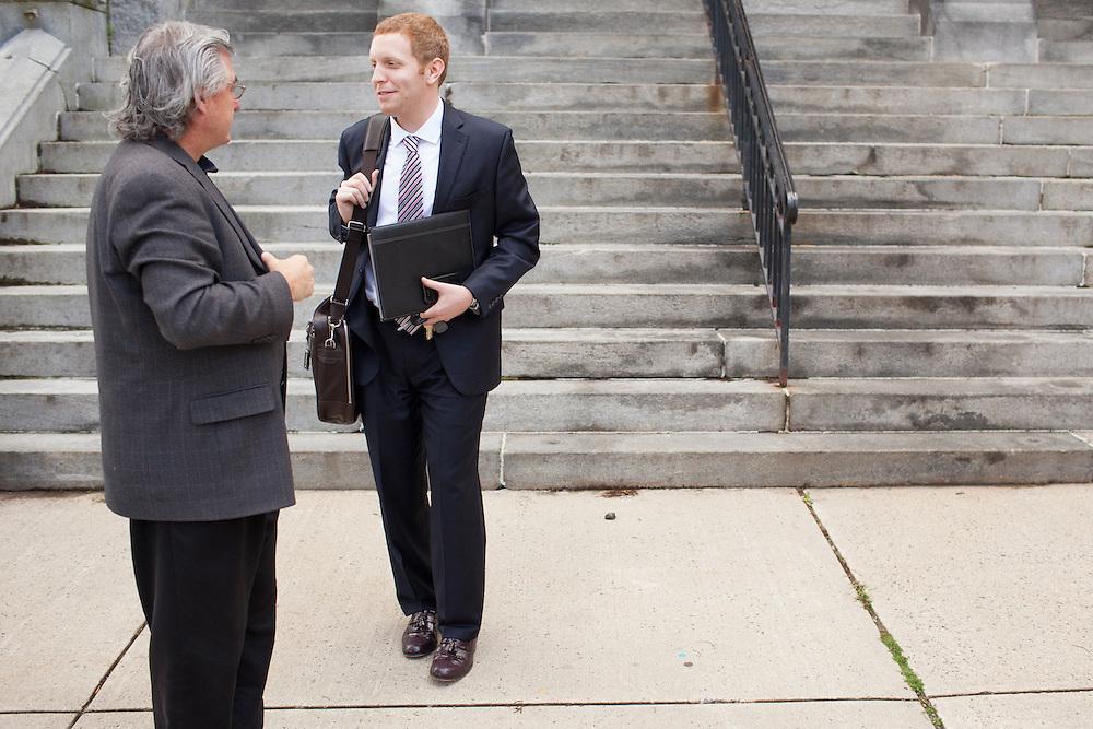 Holyoke Mayor Alex Morse