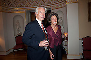LORD DAVID OWEN; LADY DEBBIE OWEN, David Campbell and Knopf host the 20th Anniversary of the revival of Everyman's Library. Spencer House. St. James's Place. London. 7 July 2011. <br /> <br />  , -DO NOT ARCHIVE-© Copyright Photograph by Dafydd Jones. 248 Clapham Rd. London SW9 0PZ. Tel 0207 820 0771. www.dafjones.com.