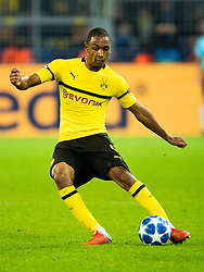 Abdou Diallo of Borussia Dortmund during the UEFA Champions League group A match between Borussia Dortmund and AS Monaco at the Signal Iduna Park stadium on October 03, 2018 in Dortmund, Germany