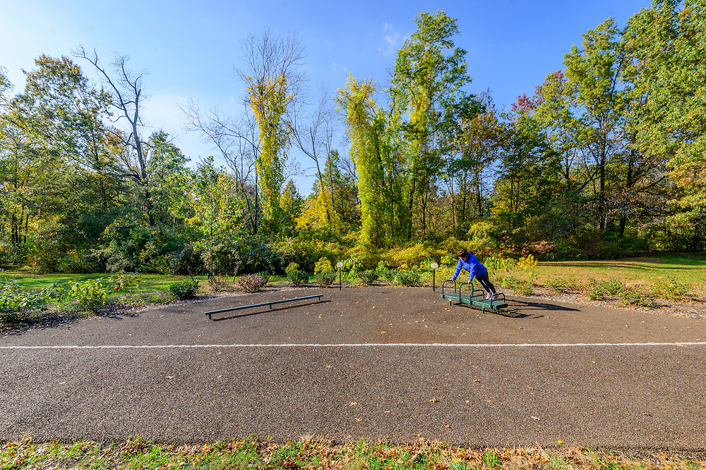 Exercise Path, Branch Brook Park is a county park of Essex County, Newark, New Jersey designed by Frederick Law Olmsted