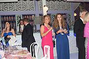 LARISSA THORPE; CASSANDRA THORPE, Grey Goose Winter Ball to benefit the Elton John Aids Foundation. Battersea Power Station. London. 10 November 2012.