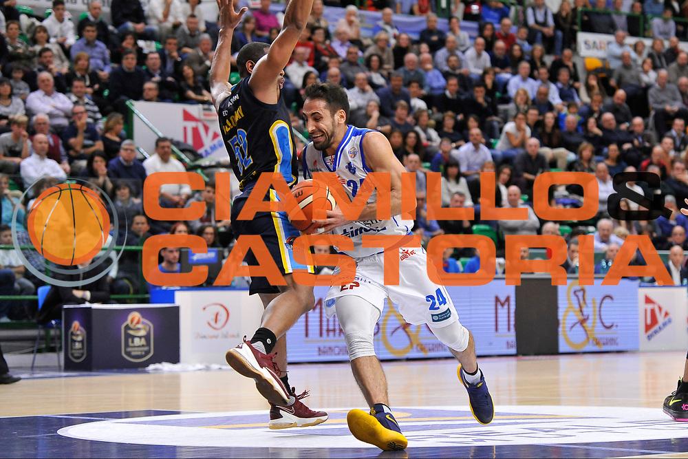 Rok Stipcevic<br /> Banco di Sardegna Dinamo Sassari - Vanoli Cremona<br /> LegaBasket Serie A LBA Poste Mobile 2016/2017<br /> Sassari 26/11/2016<br /> Foto Ciamillo-Castoria