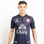 THAILAND - JUNE 26: Narubadin Weerawatnodom #15 of Buriram United on June 26, 2019.<br /> .<br /> .<br /> .<br /> (Photo by: Naratip Golf Srisupab/SEALs Sports Images/MB Media Solutions)