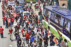 May 1, 2017 - Kuala Lumpur, MALAYSIA - Hundreds of people gather for Labor Day demonstrations on May 1st 2017, at Kuala Lumpur, Malaysia. (Credit Image: © Chris Jung via ZUMA Wire)