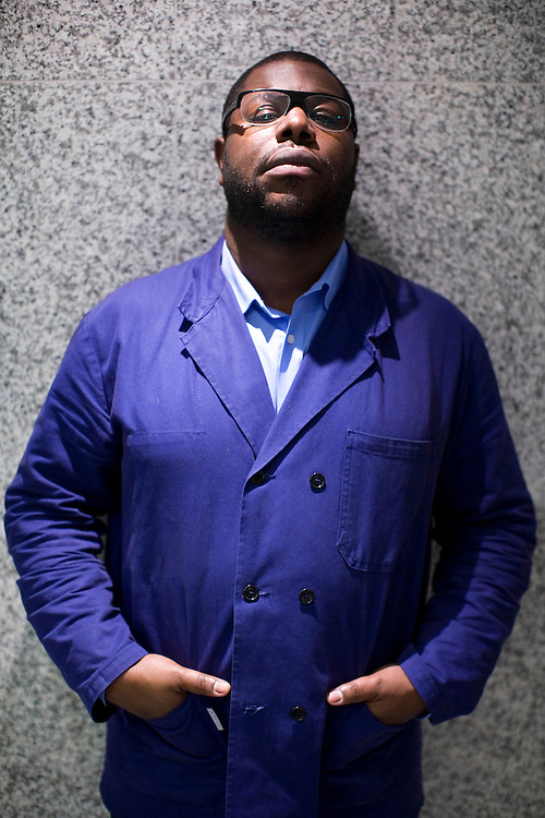 UK. London. Artist and film maker Steve McQueen who has been nominated for the Southbank Breakthrough awards