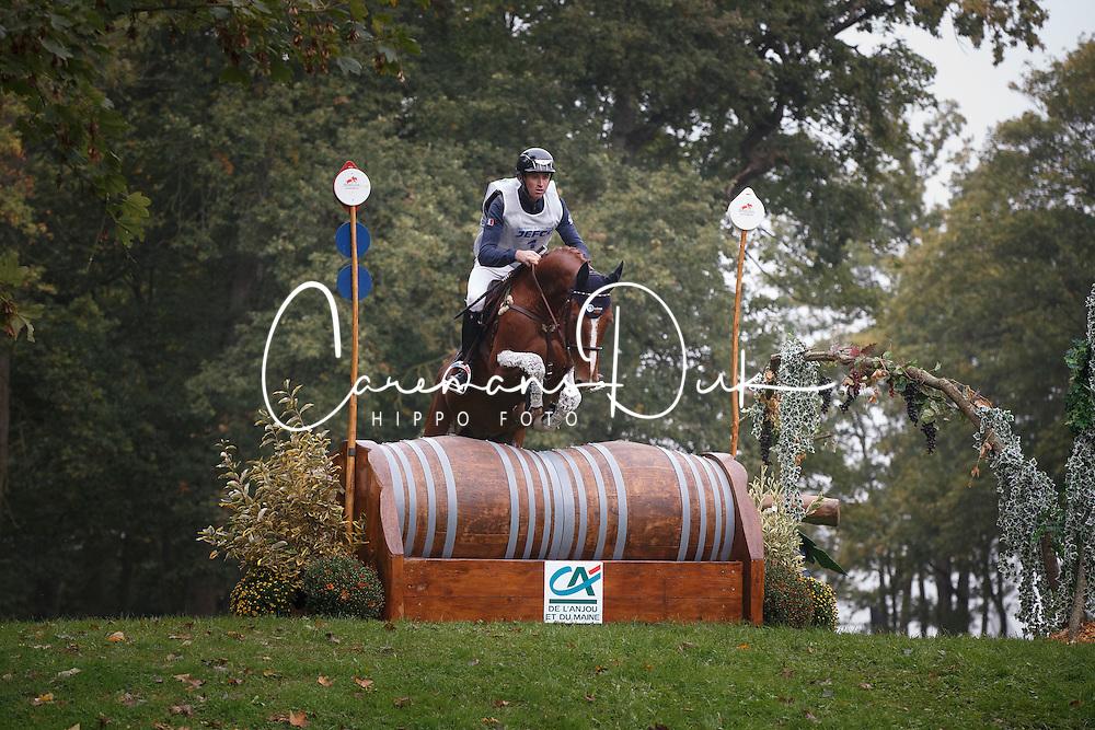 Carlile Thomas, (FRA), Vassily De Lassos<br /> Cross country<br /> Mondial du Lion - Le Lion d'Angers 2015<br /> © Dirk Caremans<br /> 17/10/15