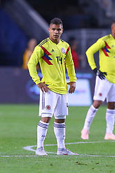 October 16, 2018 - Harrison, NJ, U.S. - HARRISON, NJ - OCTOBER 16:  Colombia forward Juan Camilo Hernandez (14) during the  second half of the International Friendly Soccer Game between Colombia and Costa Rica on October 16, 2018 at Red Bull Arena in Harrison, NJ.  (Photo by Rich Graessle/Icon Sportswire) (Credit Image: © Rich Graessle/Icon SMI via ZUMA Press)