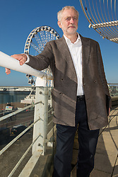 © Licensed to London News Pictures . 27/09/2015 . Brighton , UK . JEREMY CORBYN on Brighton seafront after appearing on the Marr Show this morning ( 27th September 2015 ) . The 2015 Labour Party Conference . Photo credit : Joel Goodman/LNP