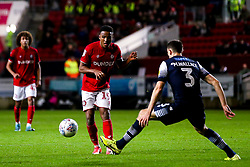 Niclas Eliasson of Bristol City takes on Murray Wallace of Millwall - Mandatory by-line: Robbie Stephenson/JMP - 10/12/2019 - FOOTBALL - Ashton Gate - Bristol, England - Bristol City v Millwall - Sky Bet Championship