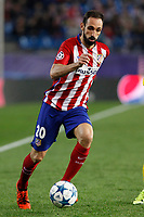Atletico de Madrid´s Juanfran during Champions League soccer match between Atletico de Madrid and FC Astana at Vicente Calderon stadium in Madrid, Spain. October 21, 2015. (ALTERPHOTOS/Victor Blanco)