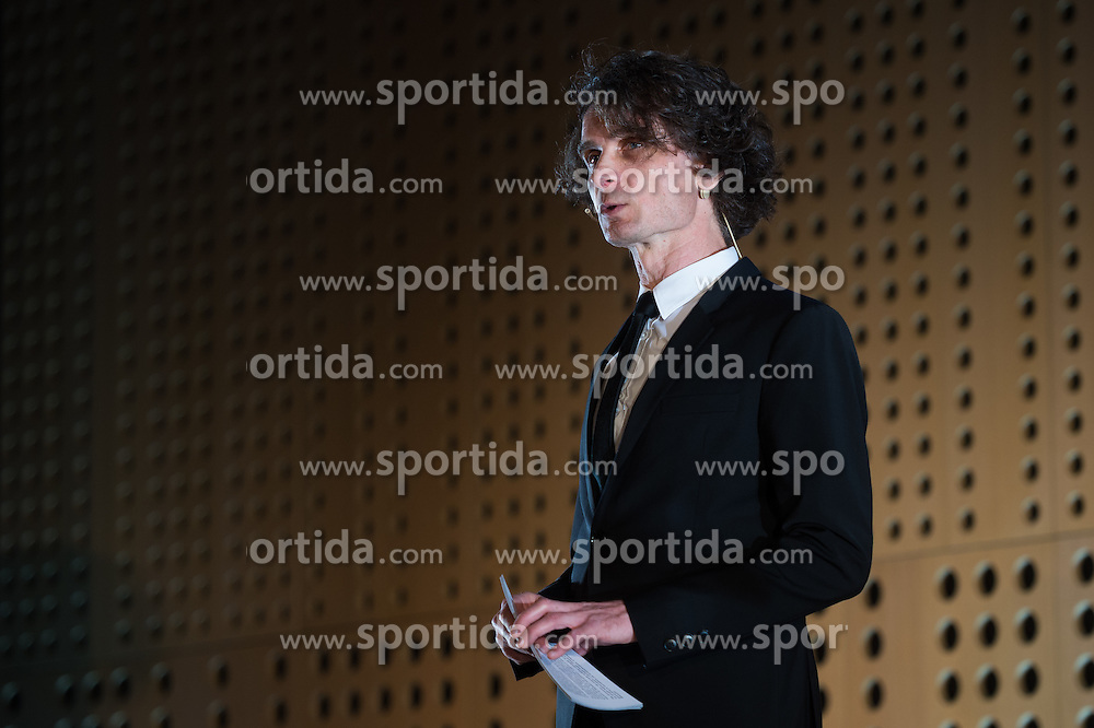 Jure Longyka at 52th Annual Awards of Stanko Bloudek for sports achievements in Slovenia in year 2016 on February 14, 2017 in Brdo Congress Center, Brdo, Ljubljana, Slovenia.  Photo by Martin Metelko / Sportida