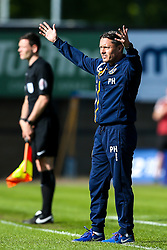Shrewsbury Town manager Paul Hurst - Mandatory by-line: Robbie Stephenson/JMP - 13/05/2018 - FOOTBALL - Montgomery Waters Meadow - Shrewsbury, England - Shrewsbury Town v Charlton Athletic - Sky Bet League One Play-Off Semi Final