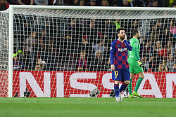 November 5, 2019, Barcelone, Espagne: FOOTBALL: FC Barcelone vs SK Slavia Praha - Champions League - 05/11/2019.Lionel Messi. (Credit Image: © Panoramic via ZUMA Press)
