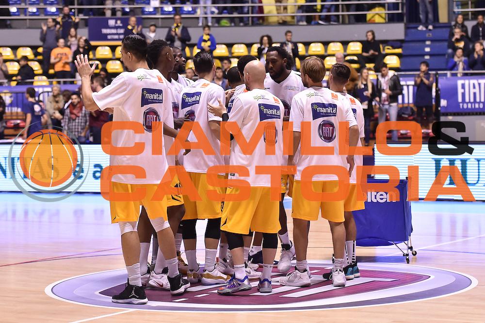 Fiat Torino<br /> Fiat Torino - Consultinvest Pesaro<br /> Lega Basket Serie A 2016/2017<br /> Torino 09/10/2016<br /> Foto Ciamillo-Castoria