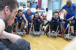 France V Denmark at the 2016 IWRF Rio Qualifiers, Paris, France