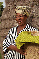 The leader of sisal weaving group, Zamampilo