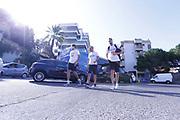 Davide Pascolo, Filippo Baldi Rossi<br /> Raduno Nazionale Maschile Senior<br /> Allenamento mattina, sala pesi<br /> Cagliari, 02/08/2017<br /> Foto Ciamillo-Castoria/ M. Brondi