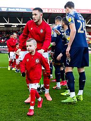 Mascots - Rogan/JMP - 18/01/2020 - Ashton Gate Stadium - Bristol, England - Bristol City v Barnsley - Sky Bet Championship.