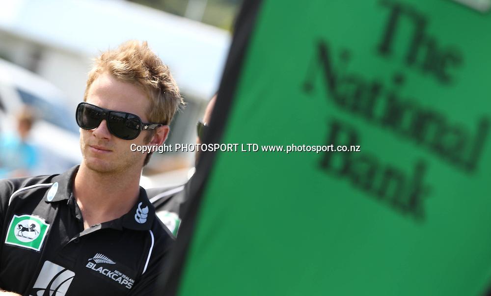Kane Williamson at the National Bank's National Cricket Club ( NCC ) Supercamp, Nelson Park, Napier, Sunday 30 January 2011. Photo: Andrew Cornaga/photosport.co.nz