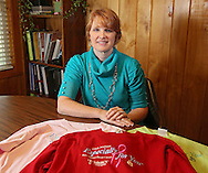 Breast cancer survivor Wendy Dickens at her house in Cedar Rapids on Wednesday, September 18, 2013. Dickens was helped by the Especially for You fund from Mercy Hospital.