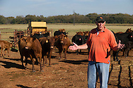 Oklahoma Quality Beef Network on farm livestock check.