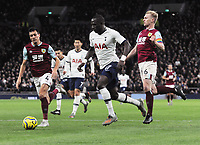 Football - 2019 / 2020 Premier League - Tottenham Hotspur vs. Burnley<br /> <br /> Moussa Sissoko of Spurs moves through to score goal no 5  at the Tottenham Hotspur Stadium.<br /> <br /> COLORSPORT/ANDREW COWIE