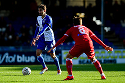Edward Upson of Bristol Rovers is marked by Frankie Raymond of Bromley - Mandatory by-line: Ryan Hiscott/JMP - 10/11/2019 - FOOTBALL - Memorial Stadium - Bristol, England - Bristol Rovers v Bromley - Emirates FA Cup first round