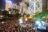 Hong Kong Friday protest