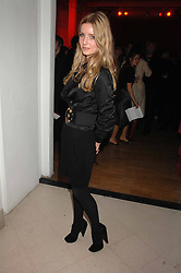 Actress ANNABELLE WALLIS at the Art Plus Drama party Held at the Whitechapel Art Gallery, London E1 on 8th March 2007. <br />