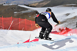 MASSIE Alex, SB-LL2, CAN, Banked Slalom at the WPSB_2019 Para Snowboard World Cup, La Molina, Spain
