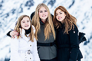 Fotosessie met de koninklijke familie in Lech /// Photoshoot with the Dutch royal family in Lech .<br /> <br /> Prinses Amalia, Prinses Alexia en Prinses Ariane  ///// Princess Amalia, Princess Alexia and Princess Ariane