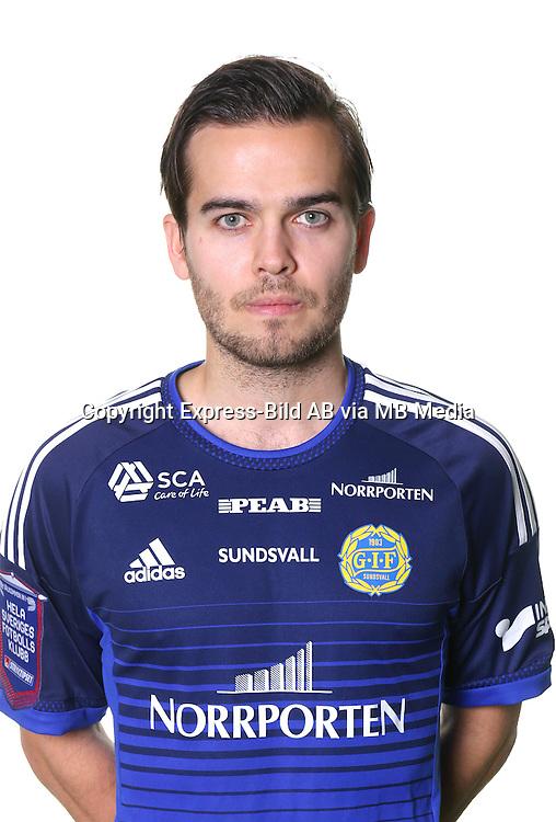 Kristinn Steind&oacute;rsson<br /> Halvfigur<br /> @leverans<br /> Allsvenskan 2016<br /> Fotboll