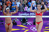 Beach Volleyball, Womens - ITA (Cicolari/Menegatti) vs USA (May-Treanor/Walsh)