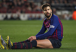 February 6, 2019 - Barcelona, BARCELONA, Spain - Pique of Barcelona in action during Spanish King championship, football match between Barcelona and Real Madrid, February 06th, in Camp Nou Stadium in Barcelona, Spain. (Credit Image: © AFP7 via ZUMA Wire)
